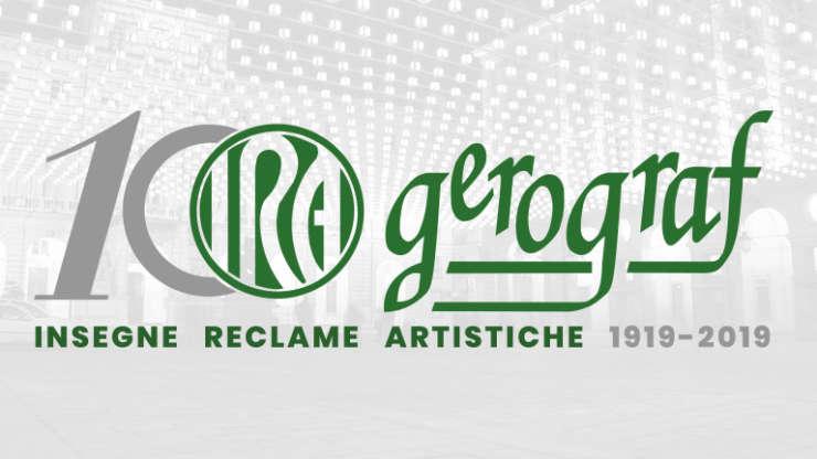Gerograf IRA: 100 anni di insegne a Torino.
